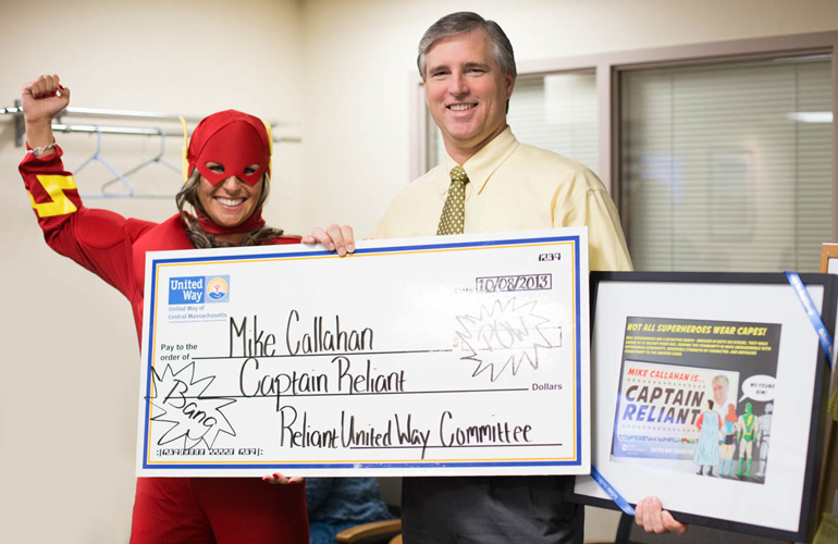 Mike Callahan Named Captain Reliant by the United Way Committee