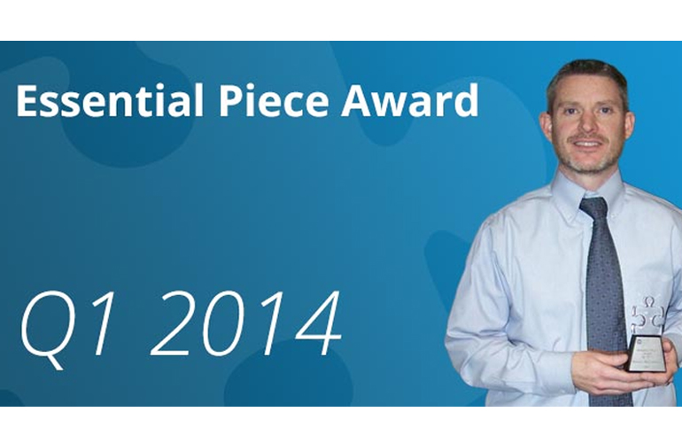 This Quarter's Essential Piece Award Goes to…Patrick McCormack!