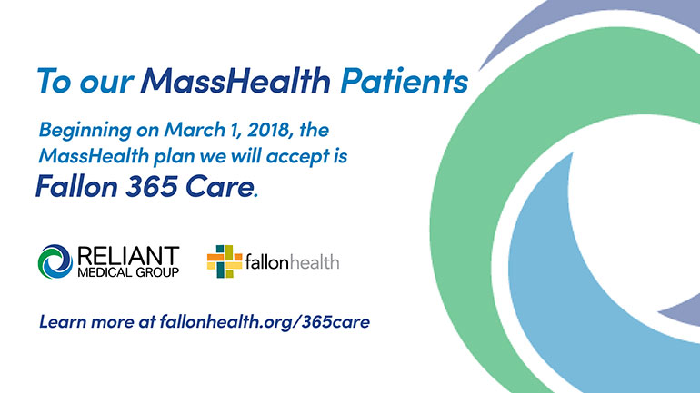 Reliant Medical Group Partners with Fallon Health to Create Fallon 365 Care