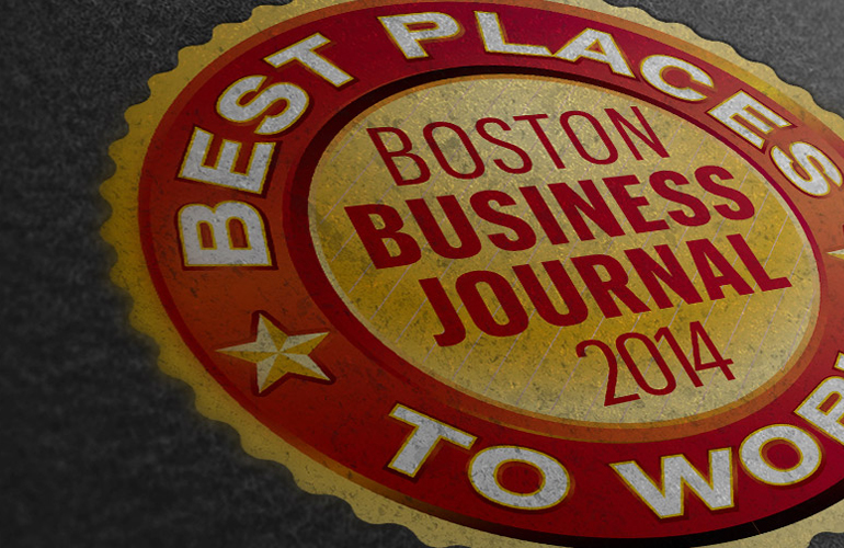 """Reliant Named as """"Best Place to Work"""" by Boston Business Journal for Second Year in a Row!"""