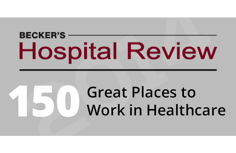 Another Honor for Reliant – Becker's Hospital Review 150 Great Places to Work in Healthcare