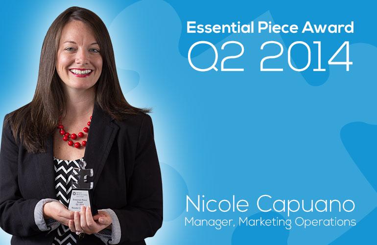 Nicole Capuano is this Quarter's Essential Piece!