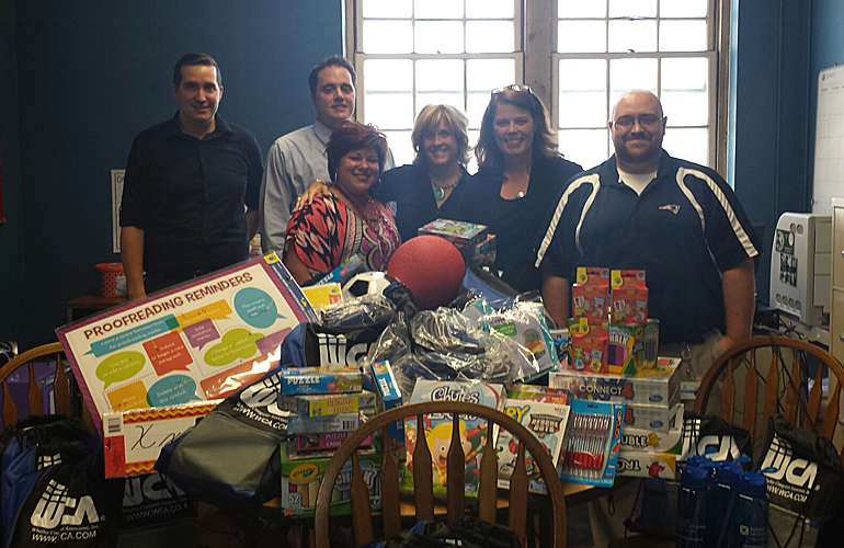 Reliant's IT Department Donates to Local School
