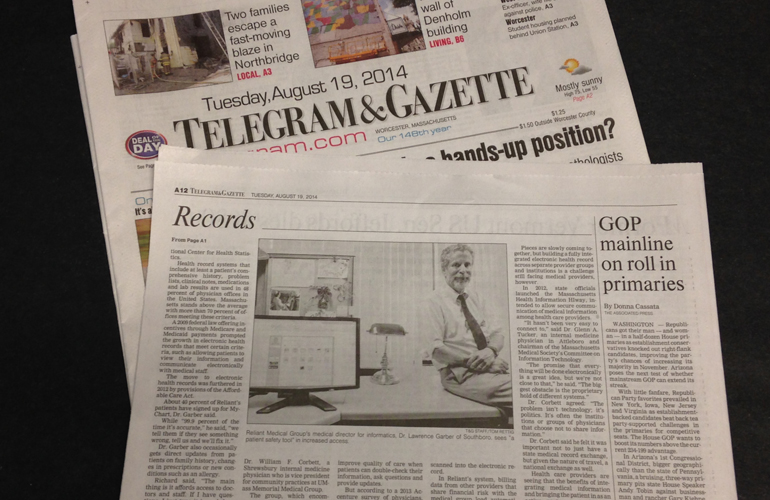 Dr. Garber Featured in Telegram & Gazette