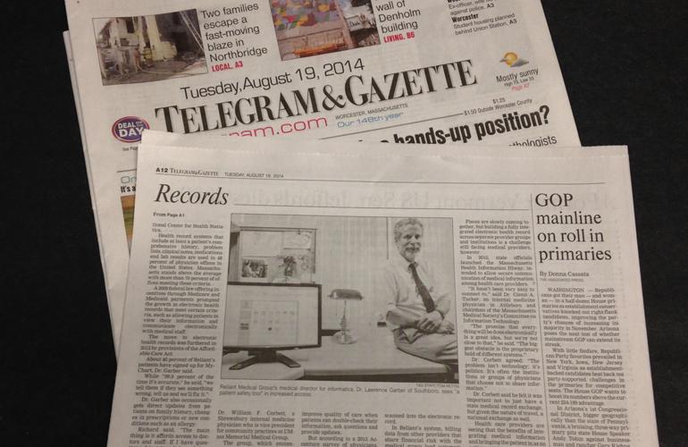 Dr. Garber Featured in Telegram & Gazette