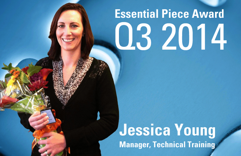 Jessica Young is this Quarter's Essential Piece!