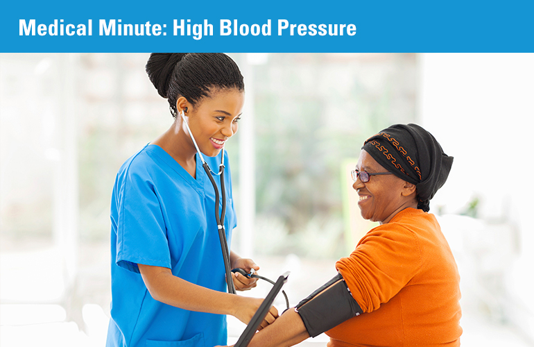 Medical Minute: High Blood Pressure