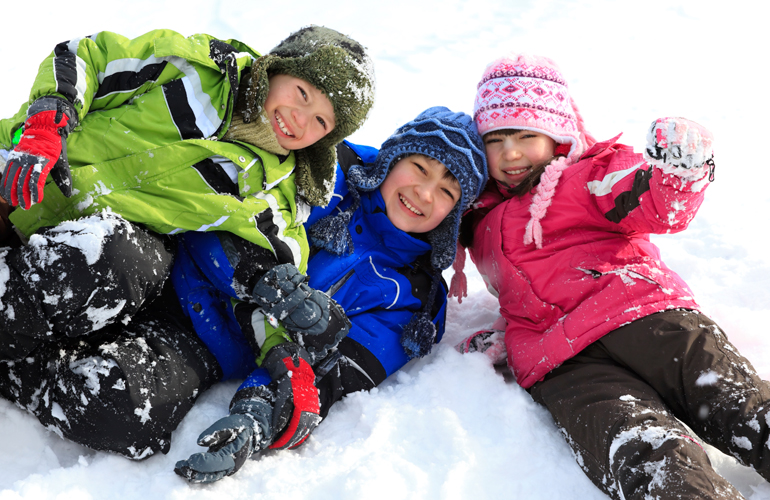 "Keeping Kids Active During the ""Yucky"" Months"