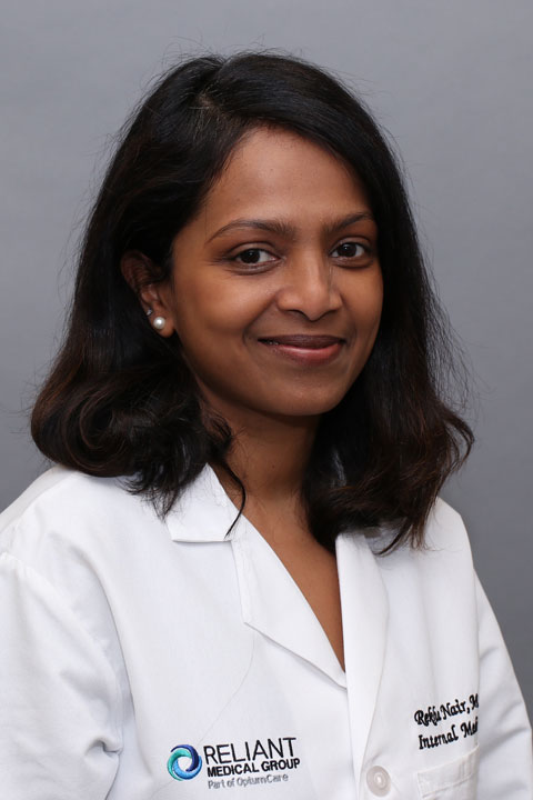 Dr  Rekha Nair, MD -Reliant Medical Group, Millbury, MA