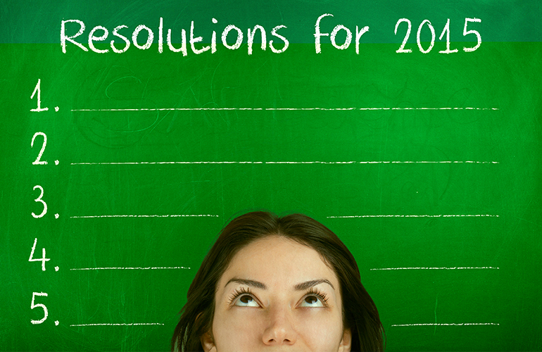 Making Good on Your New Year's Resolution