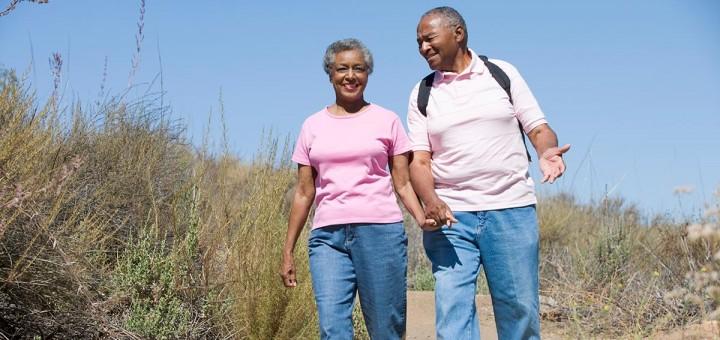 Walking Makes Exercise Easy for Seniors!