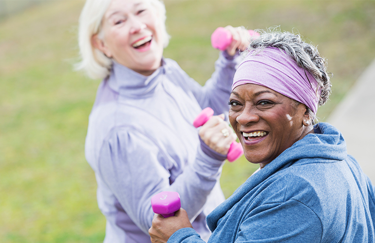 You're Never Too Old To Exercise