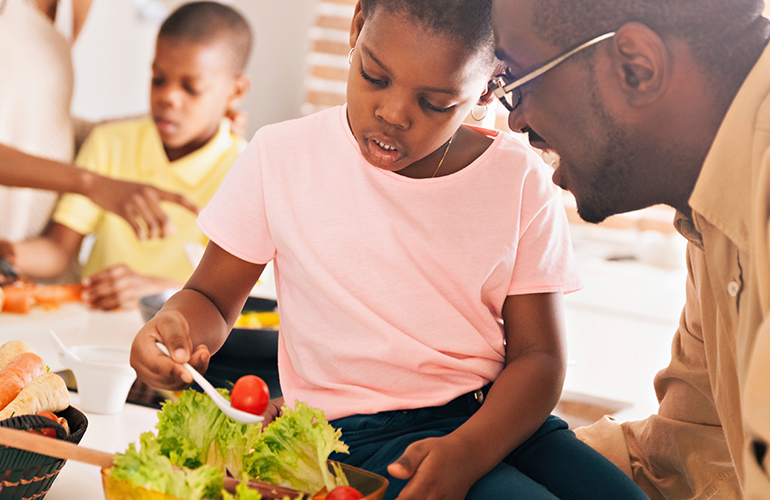 Reliant Registered Dietitians Prove Good Eating and Good Health Go Together