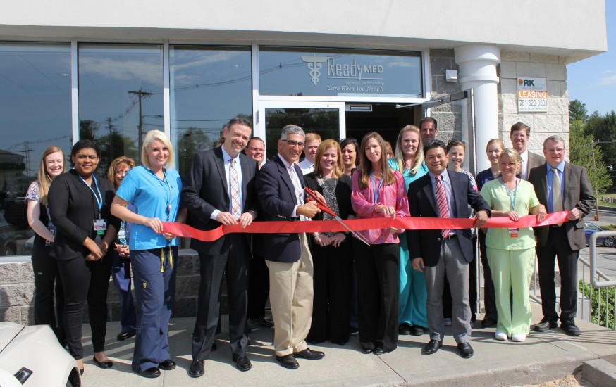 Hudson ReadyMED Ribbon Cutting