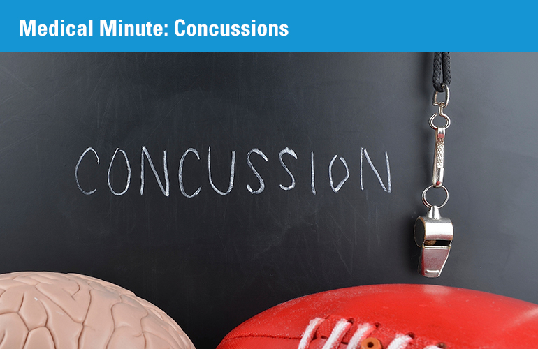 Medical Minute: Concussions
