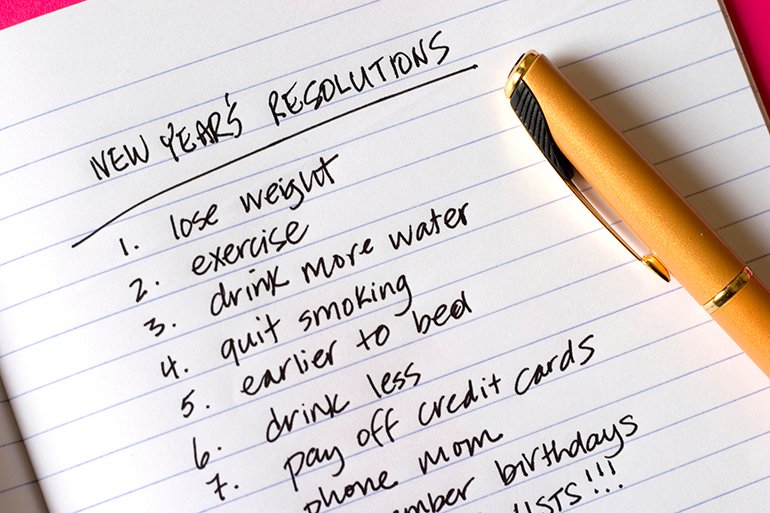 Making Realistic New Year's Resolutions