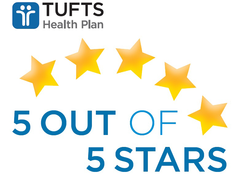 Congratulations Tufts Health Plan Reliant Medical Group