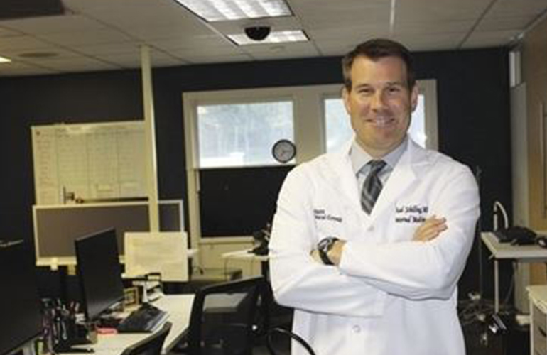 Dr. Thad Schilling Featured in Worcester Business Journal