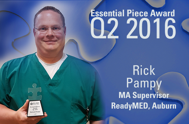 Rick Pampy is this Quarter's Essential Piece!