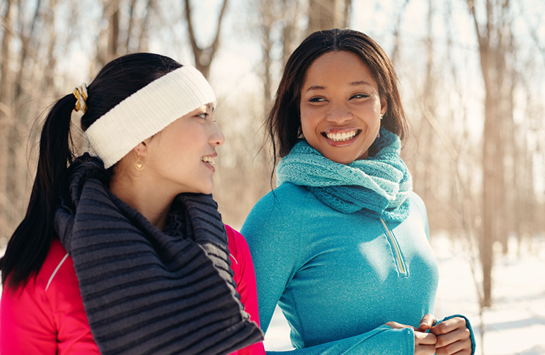 Don't Let Old Man Winter Stop You From Getting the Exercise You Need!