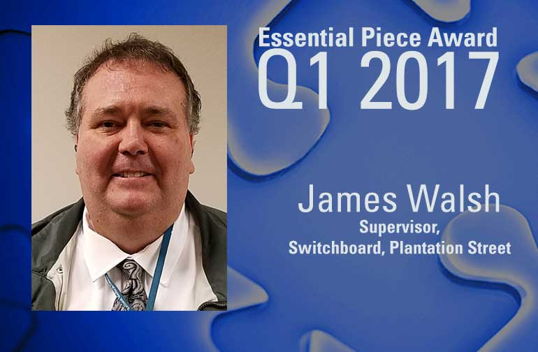 James Walsh is This Quarter's Essential Piece!