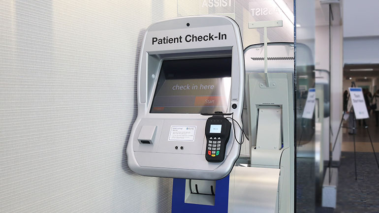 Patient Check-In kiosk