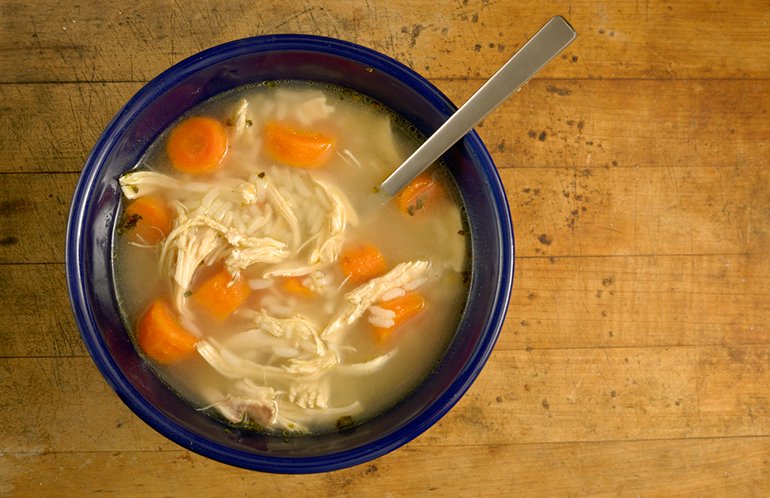 Medical Mythbuster: Is Eating Chicken Soup Good for a Cold?