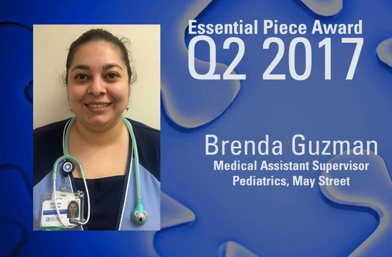 Brenda Guzman is This Quarter's Essential Piece!