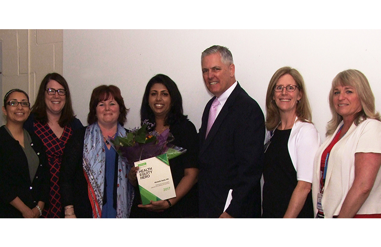 Dr. Michelle Dalal Receives 2017 Health Equity Hero Award