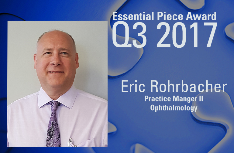 Eric Rohrbacher is This Quarter's Essential Piece!