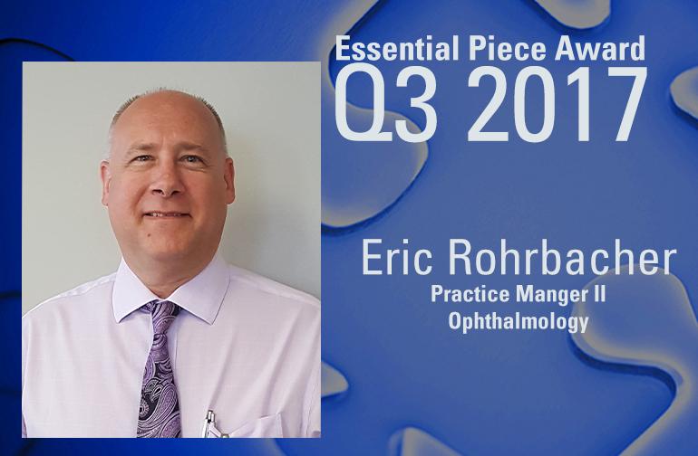 Eric Rohrbacher is This Quarter's Essential Piece!