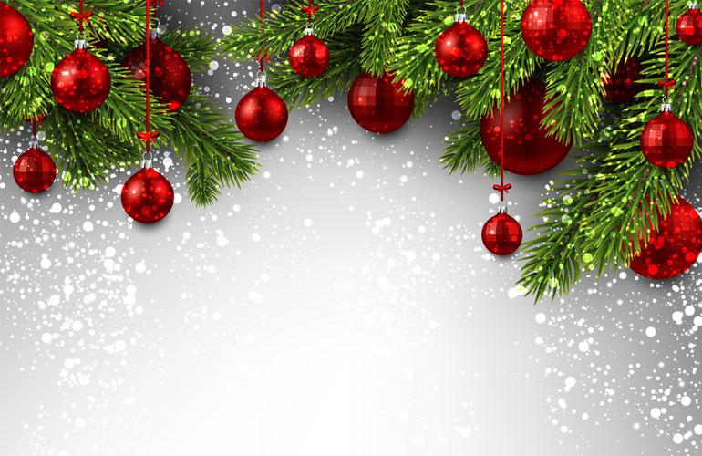 Christmas Holiday Notice 2017