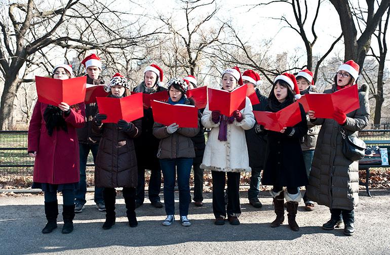 Annual Hospital Christmas Caroling
