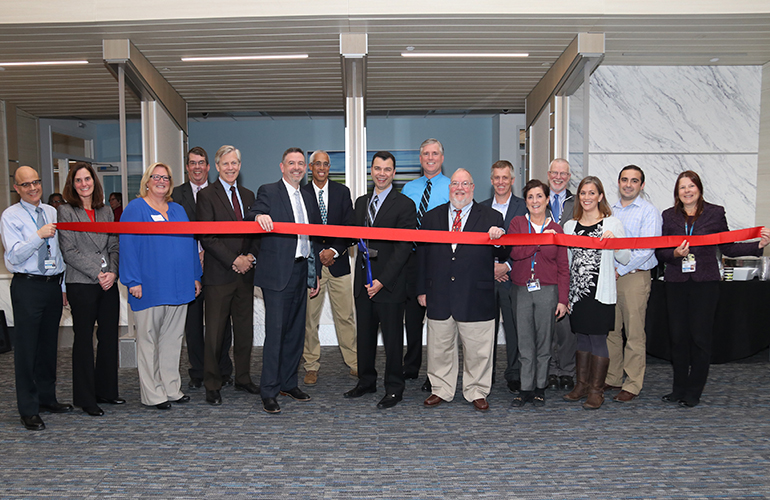 Ribbon Cutting at Reliant's New Milford Site