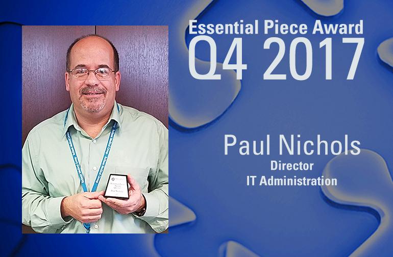 Paul Nichols is This Quarter's Essential Piece!