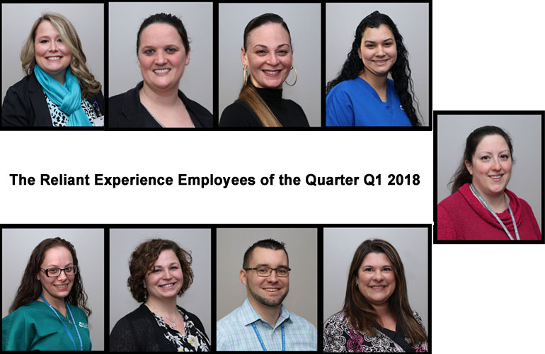 Congratulations to our Q1 2018 Employees of the Quarter!