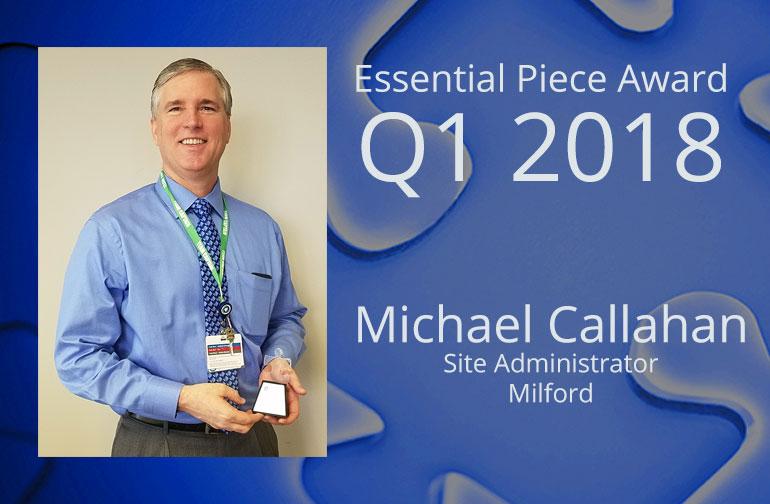Michael Callahan is This Quarter's Essential Piece!