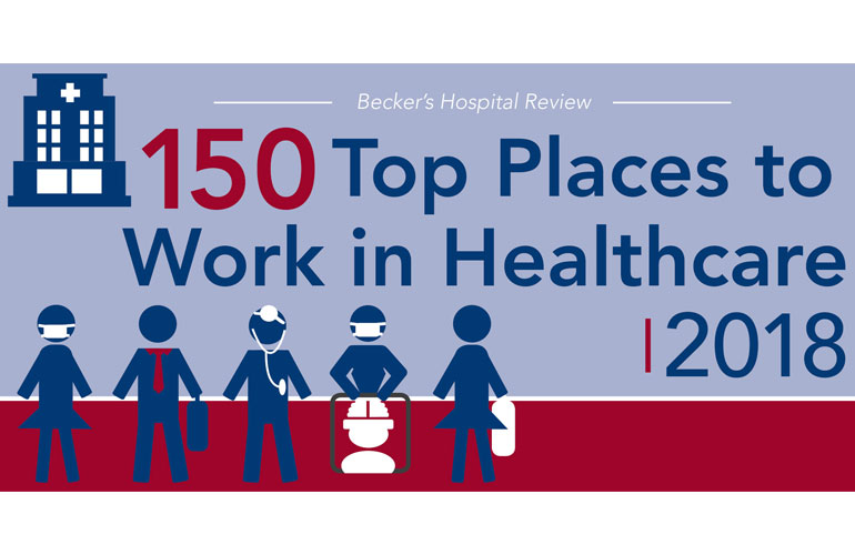 Becker's Hospital Review Names Reliant Top Place to Work