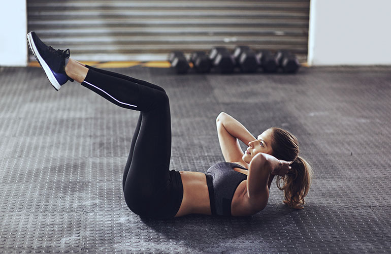 Medical Mythbuster: Do Sit-Ups Make Your Stomach Flat?