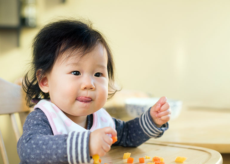 Baby-Led Weaning Gains in Popularity