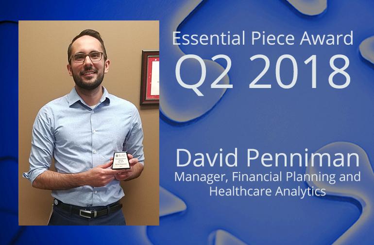 David Penniman is This Quarter's Essential Piece!