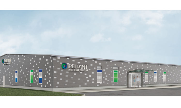 Rendering of the new Gold Star Boulevard Rehab offices