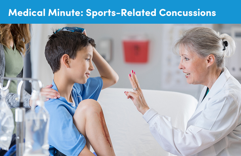 Medical Minute: Sports-Related Concussions