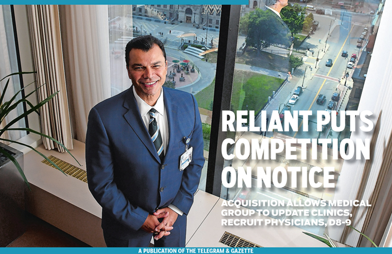 Reliant Medical Group Featured in Telegram & Gazette
