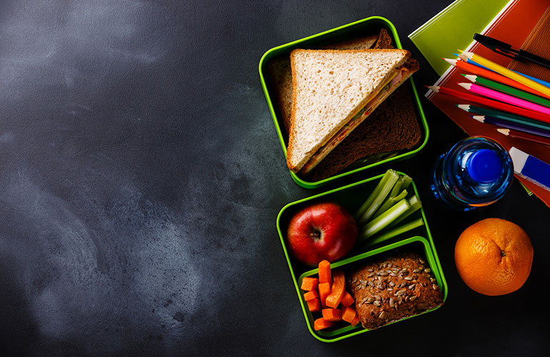 Back to School: Five Simple School Lunch Ideas Your Children Will Eat Up