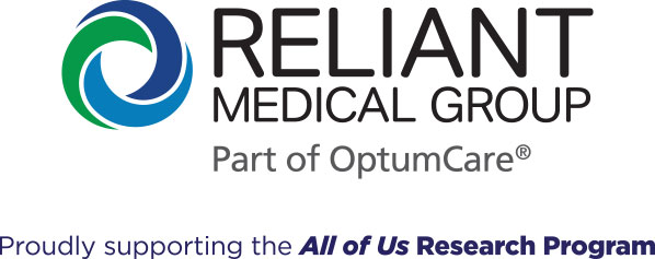 Reliant Medical Group Proudly supporting the All of Us Research Program