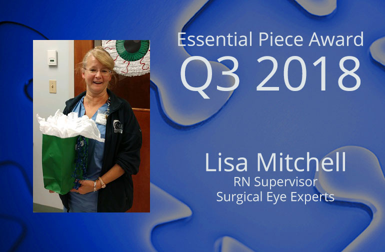 Lisa Mitchell is This Quarter's Essential Piece!