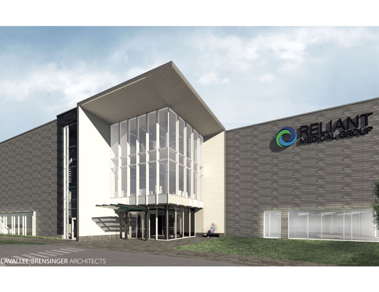 Rendering of the new Leominster Office