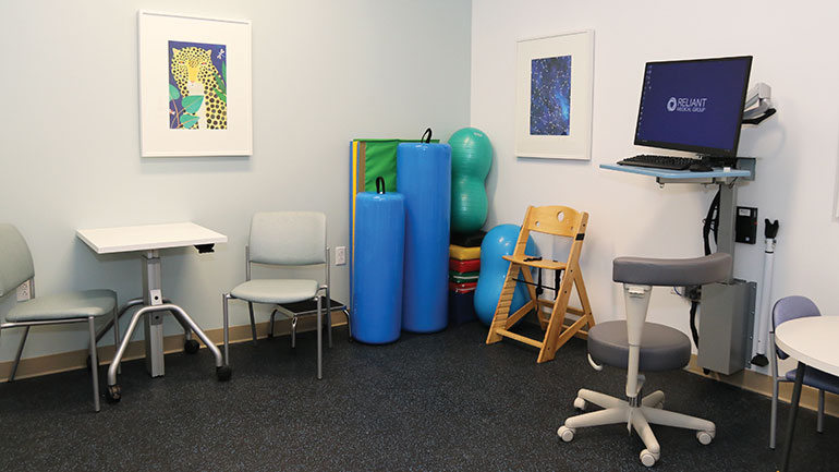 Children's Room at the new Gold Star Boulevard location