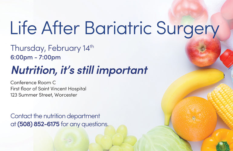 Life After Bariatric Surgery Group -February 2019